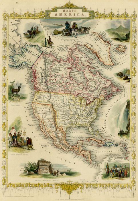 north america 1851
