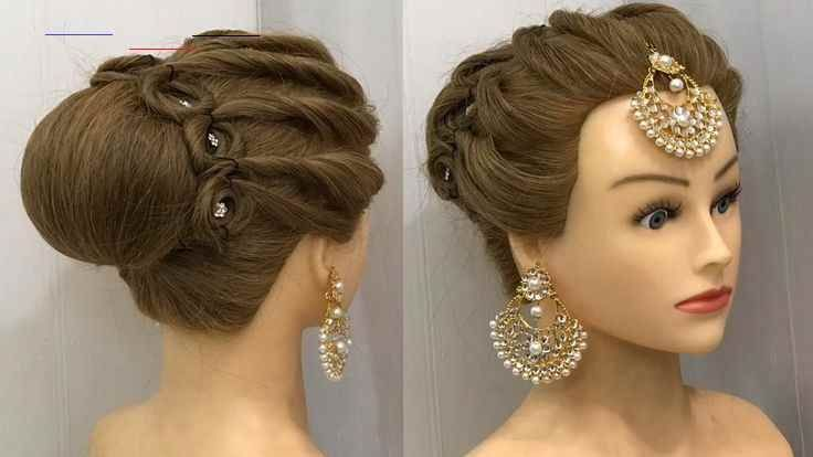 Hairstyle For Saree Indian Open Hairstyle On Saree Open Hairstyle Indian Open Saree In 2020 Easy Bun Hairstyles Wedding Bun Hairstyles Bridal Hair Buns