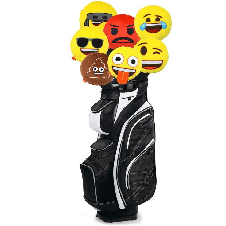Official Emoji Novelty Golf Head Covers available on Ebay to buy now!