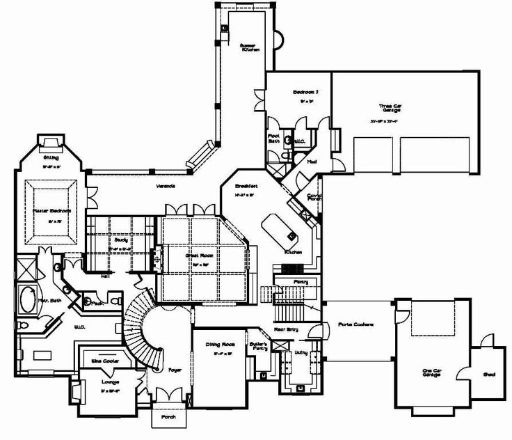 83 Best Images About House Plans On Pinterest