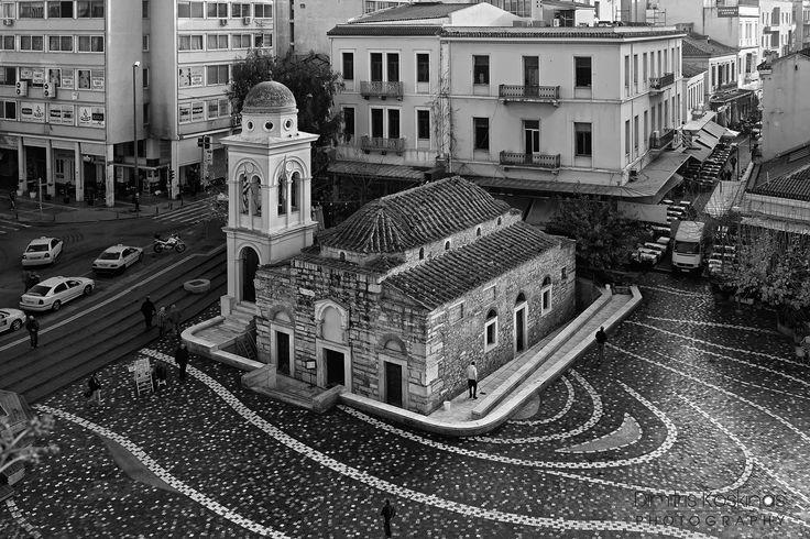 Photograph Church of the Pantanassa Monastiraki Athens by Dimitris Koskinas on 500px, #solebike, #Athens, #e-bike tours