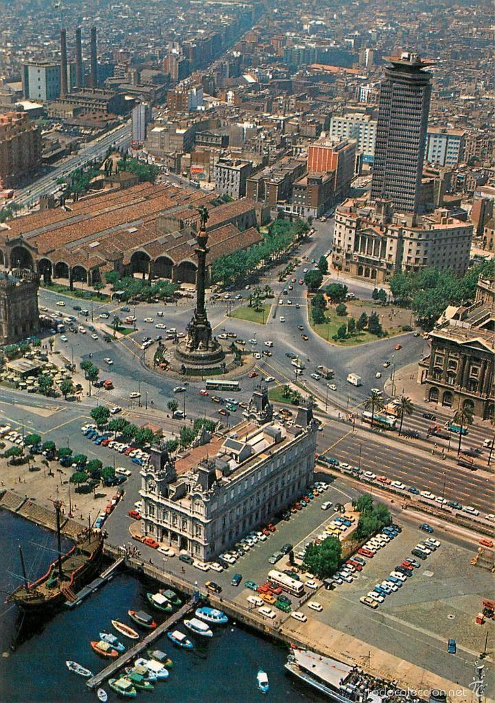 Barcelona amb la caravel.la. (Barcelona con la carabela)