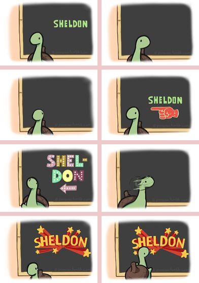 Sheldon Sheldon shelllllldonnnnn it's Sheldon jazz hands