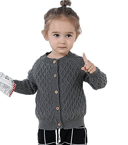 Product review for Quavey Girls Boys Sweater Cardigan Warm Coat Clothes Unisex 100% Cotton For 1-6 Years Kids.  Features: 100% Brand New, classic and simple design. Specifications : Brand: Quavey Material: 100% high quality cotton, Advantage: As a little princess and prince's Christmas present.Perfect for any occasion,like Christmas,Holiday,Daily Wear or any occasion. Breathable & Light &...