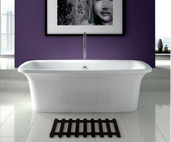 Baignoire nue ilot rectangulaire 180x80 Ithaca de jacuzzu 1555 euros sur le site sanitaire.fr livraison en 4 semaines