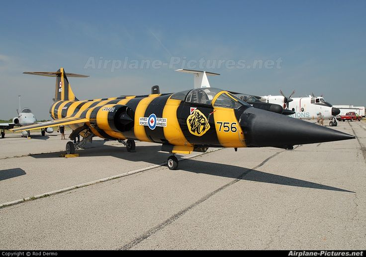 Royal Canadian Air Force -  Canadair CF-104 Starfighter