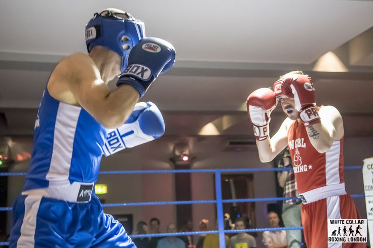 Congratulations to Paul, who took on a boxing challenge for Centrepoint, and raised £316! He's the boxer in the blue, and he won!