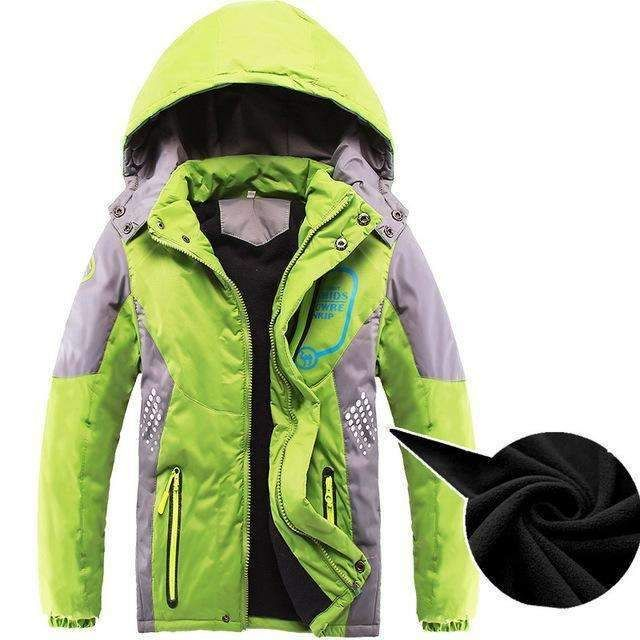 Result Boys Kids Childrens Padded HOODED Warm Showerproof Windproof Jacket Coat