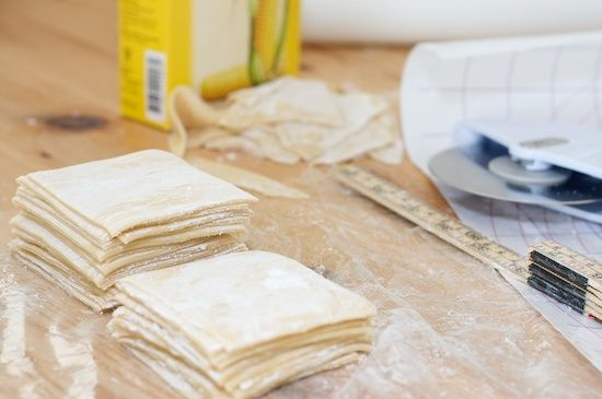 Homemade Wonton Wrappers: I wish I had a pasta maker, then these would be even easier to make!