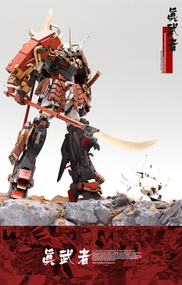 GBWC 2015 1/100 MUSHA UNICORN GUNDAM: Amazing Work by Kenshin. Full Photo Review | GUNJAP