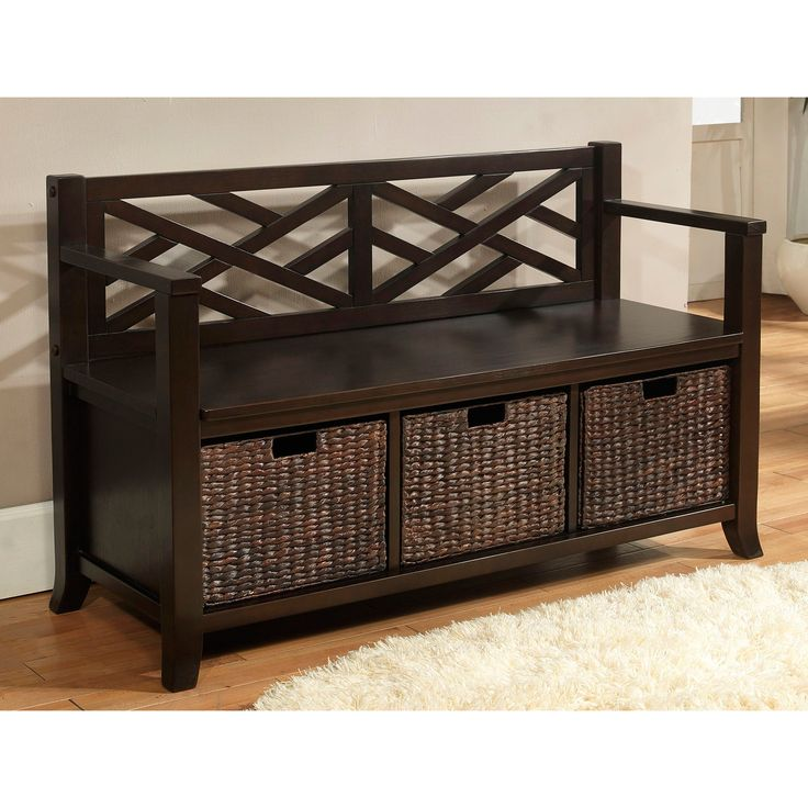 25  best ideas about storage bench with baskets on pinterest ...