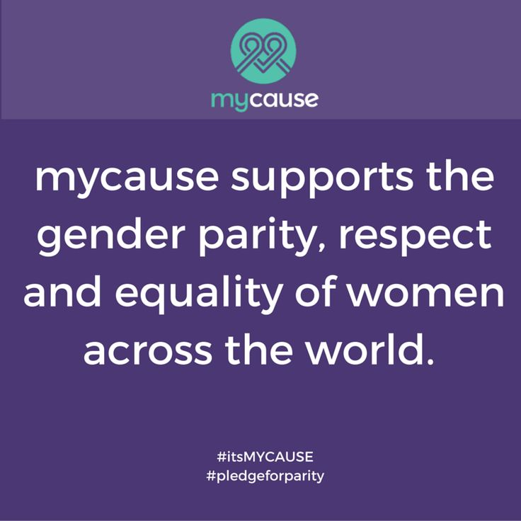 #IWD2016 #PledgeForParity for International Women's Day #itsMYCAUSE
