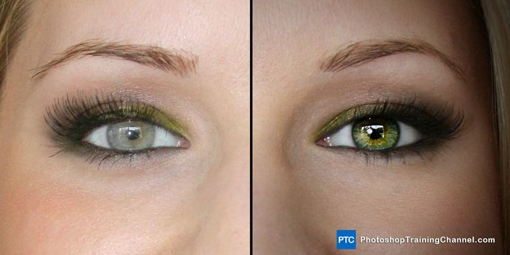 Enhancing Eyes In Photoshop from Photoshop Training Channel