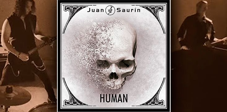 """JUAN SAURIN: Publicará su nuevo disco """"Human"""" el próximo 15 de septiembre"""