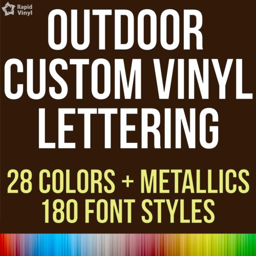 US-Deals Cars Custom Outdoor Vinyl Lettering Decal Car Truck Boat Jeep Window Glass Sticker: $5.99 End Date: Thursday Apr-5-2018…%#USDeals%