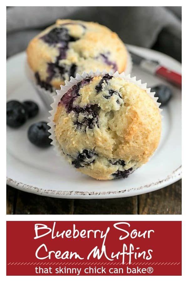 Blueberry Sour Cream Muffins Recipe Sour Cream Muffins Sour Cream Blueberry Muffins Healthy Sour Cream