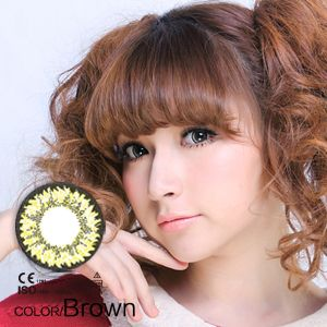 Miomi Super Nudy Brown Circle Lens 14.5mm
