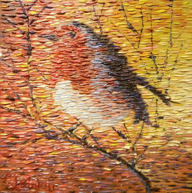 impressionist birds cy Chris Quinlan Art