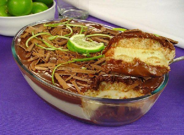 O Pavê Chocolimão é uma sobremesa prática e deliciosa que vai agradar toda a família. Confira! Veja Também:Pavê Mousse de Abacaxi Veja Também:Pavê de Son