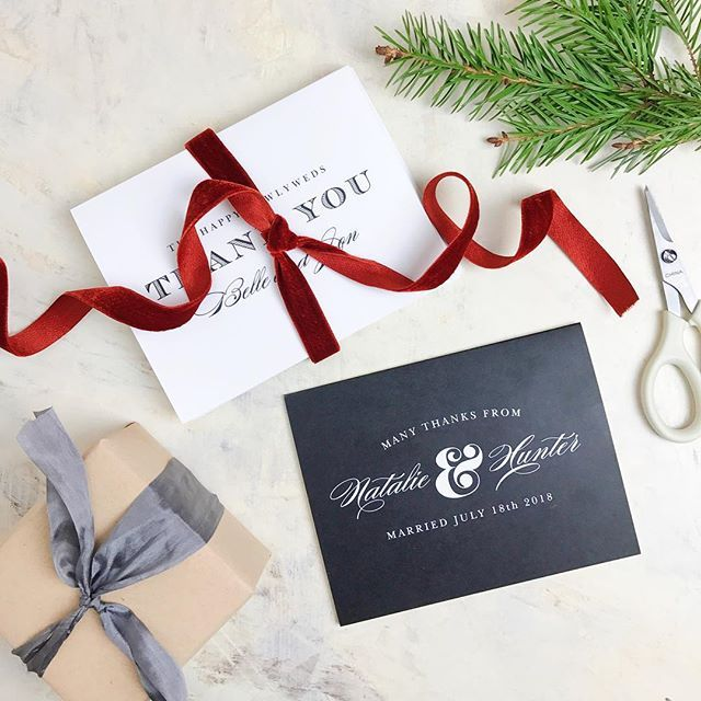 Best Wedding Thank You Cards Images On   Appreciation