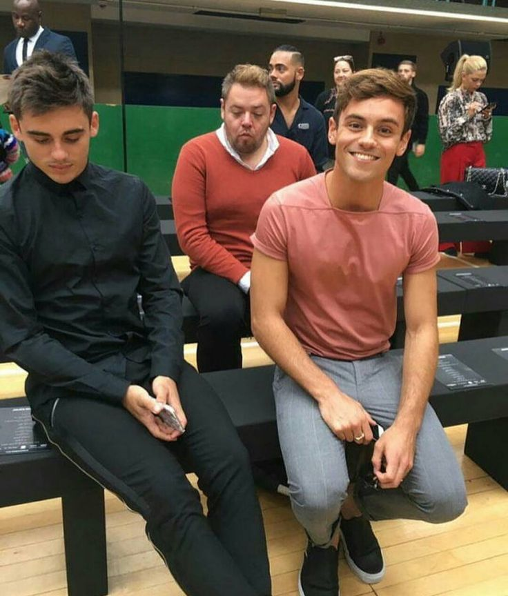 "290 Likes, 3 Comments - Tom Daley Taiwan (@tomdaley.tw) on Instagram: ""Tom Daley, Chris Mears and Mike attend the Julien Macdonald show at the Seymour Leisure Centre…"""