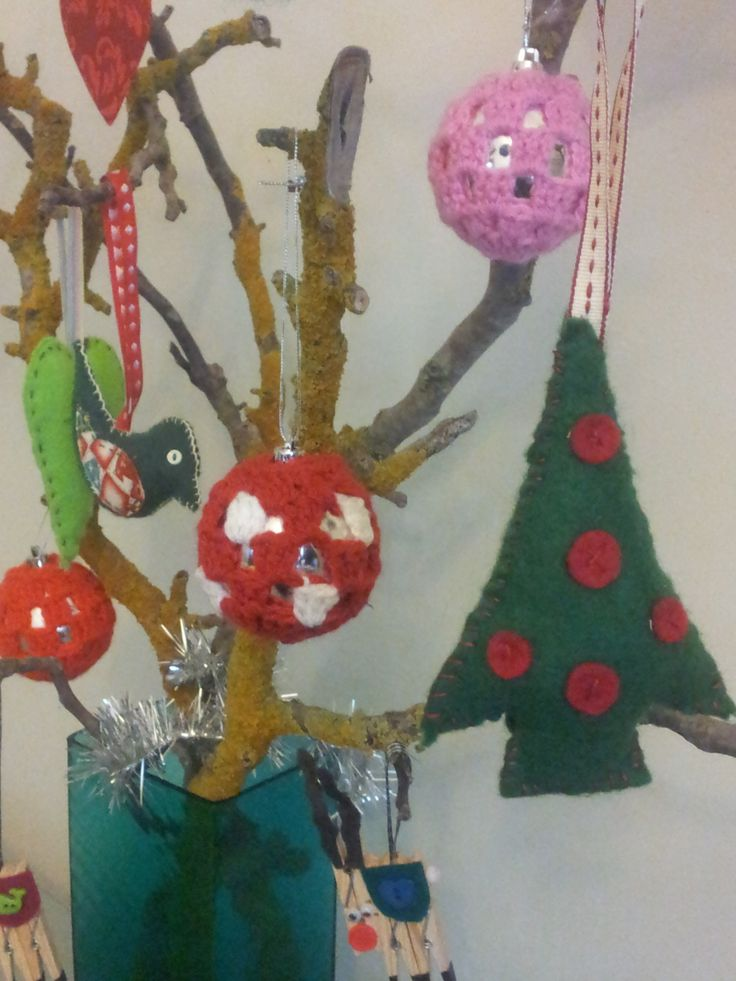More baubles and felt!