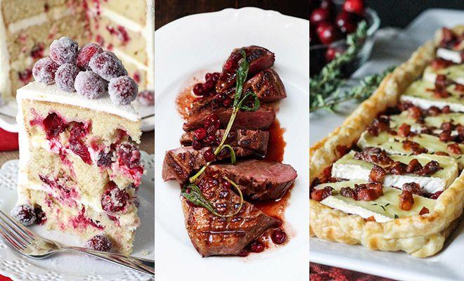 Kerst & cranberry: het wordt vaak in één adem genoemd. Tijd om de lekkerste cranberry recepten op een rij te zetten!