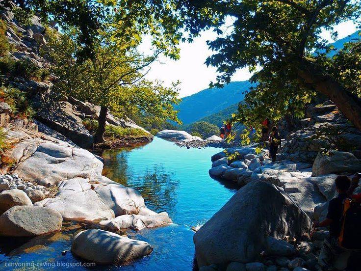 Samothraki island. A paradise in Northern Greece