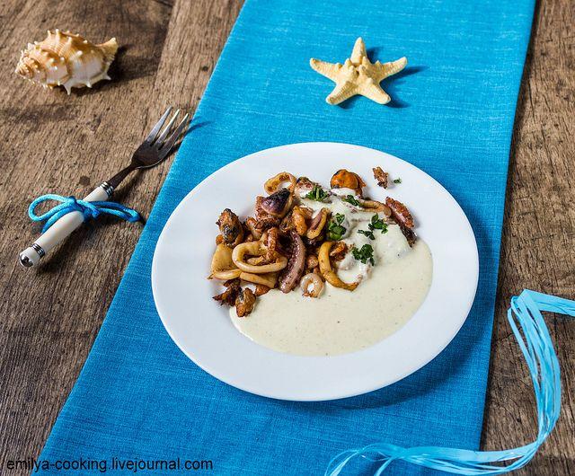 Соус для морского салата