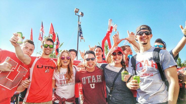 #Utah #Utes students getting ready for the #HolyWar. Thanks @julie.m.wood!  #SuperTailgate #tailgate #tailgating #win #letsgo #gameday #travel #adventure #stadium #party #sport #ESPN #jersey #sports #league #SportsNews #score #photooftheday #love #football #NCAAF #CollegeFootball