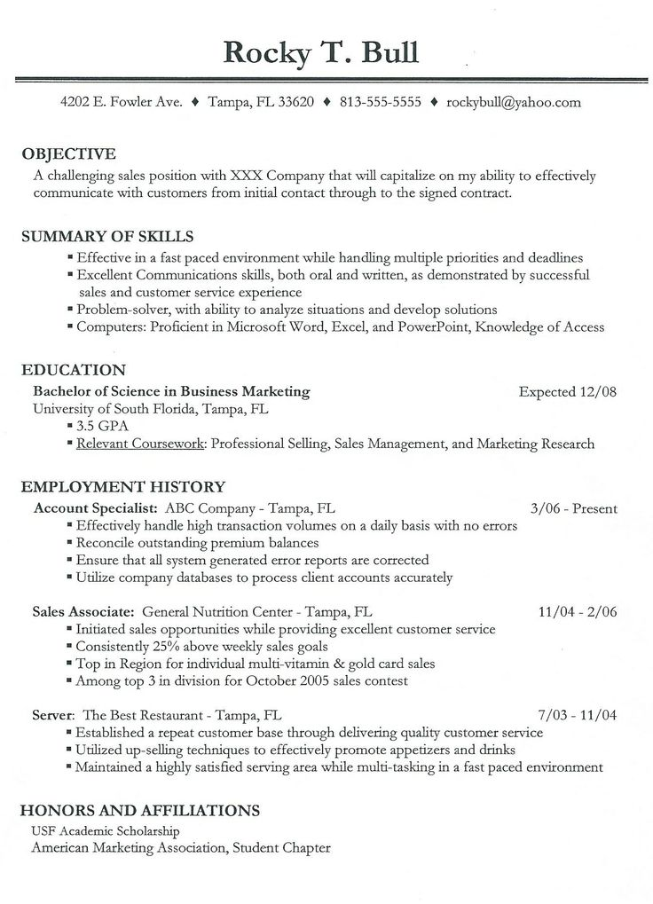 Work Resume Template Berathen Com. Resume Examples Need A Resume