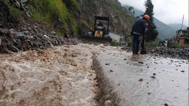 Carretera Central: tránsito restringido debido a deslizamiento