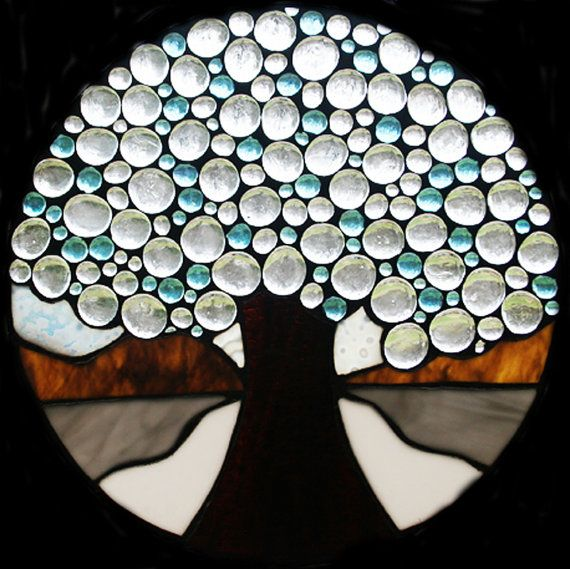 great idea for stained glass gems....