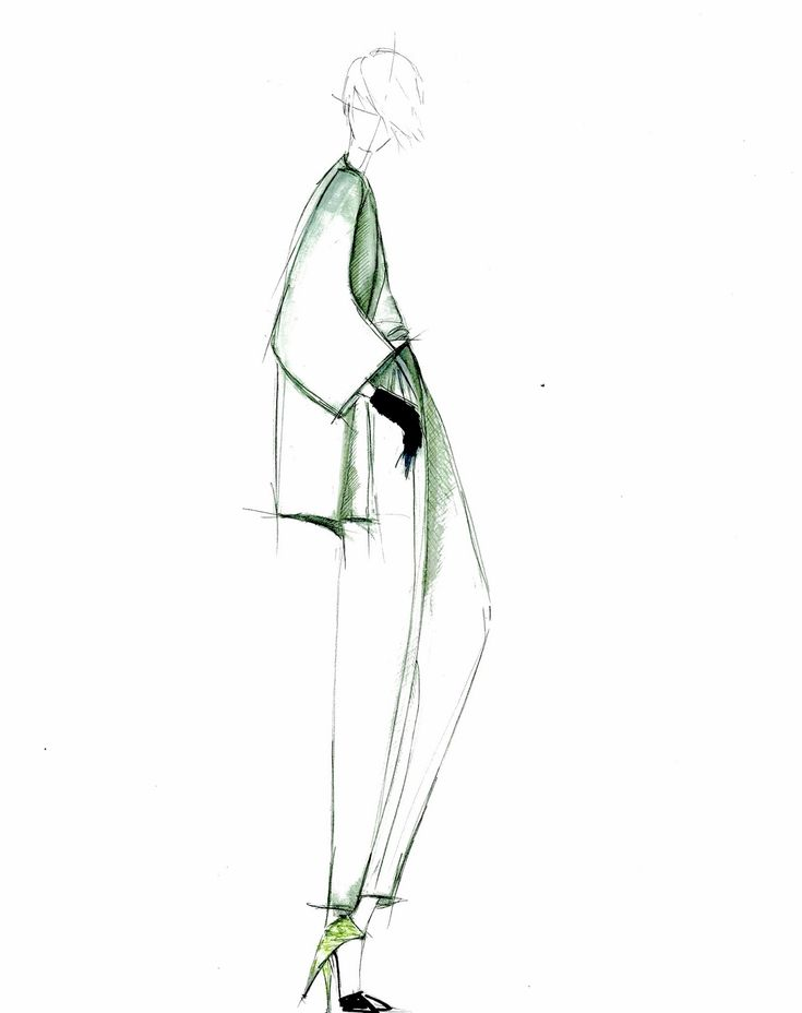 Fashion Illustration by Alessandra De Gregorio Design by Giorgio Armani…