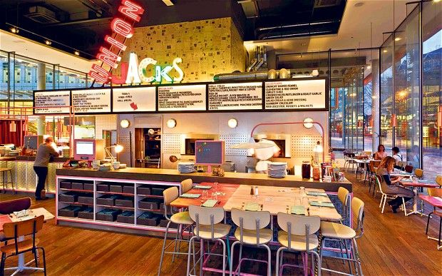 Bish bash gosh now jamie oliver s openend a chain of