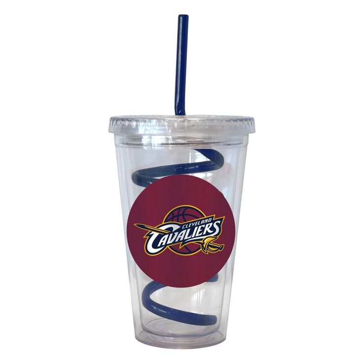 NBA Cleveland Cavaliers Boelter Swirl Straw Cup