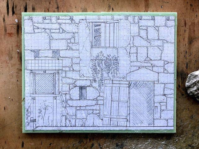 Vom Leben Gezeichnet Von Marcel Ackle Gebaut Haus Mit
