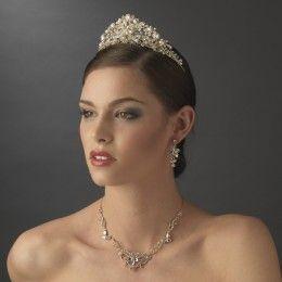 Bridal tiara Lila - Georgia Dristila Accs