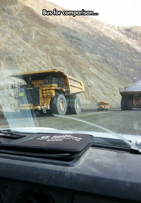 Maybe It's Just A Tiny Bus For Midgets Who Work In The Mines?