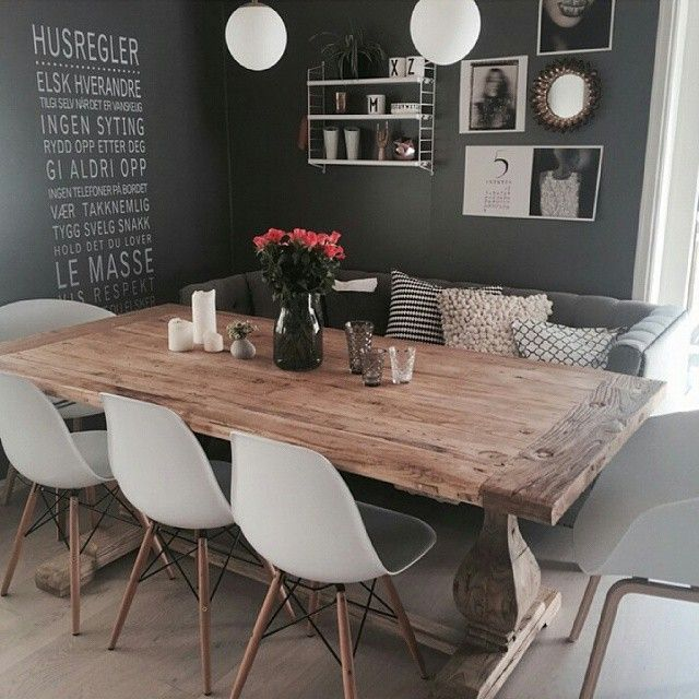 What about this stunning diningroom!? Credit: @jillkri74 #diningroom #decor…