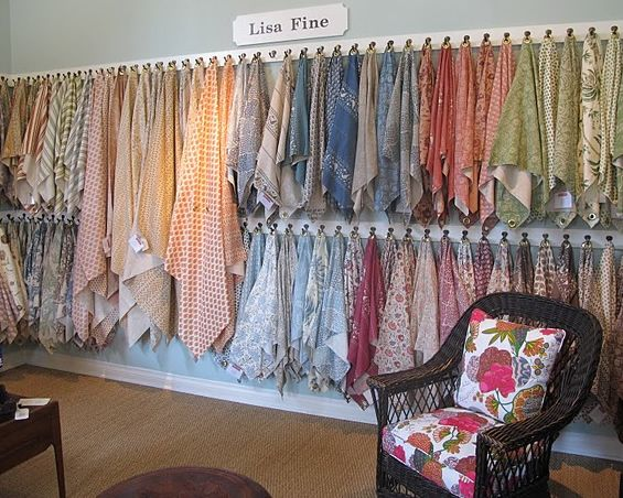 21 best images about retail fabric display on pinterest for Fabric sellers