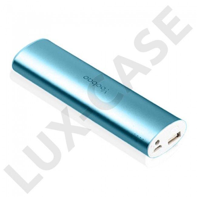 Yoobao Magic Wog Power Bank 10400mAh (Blå) med LED lommelykt For Smartphones
