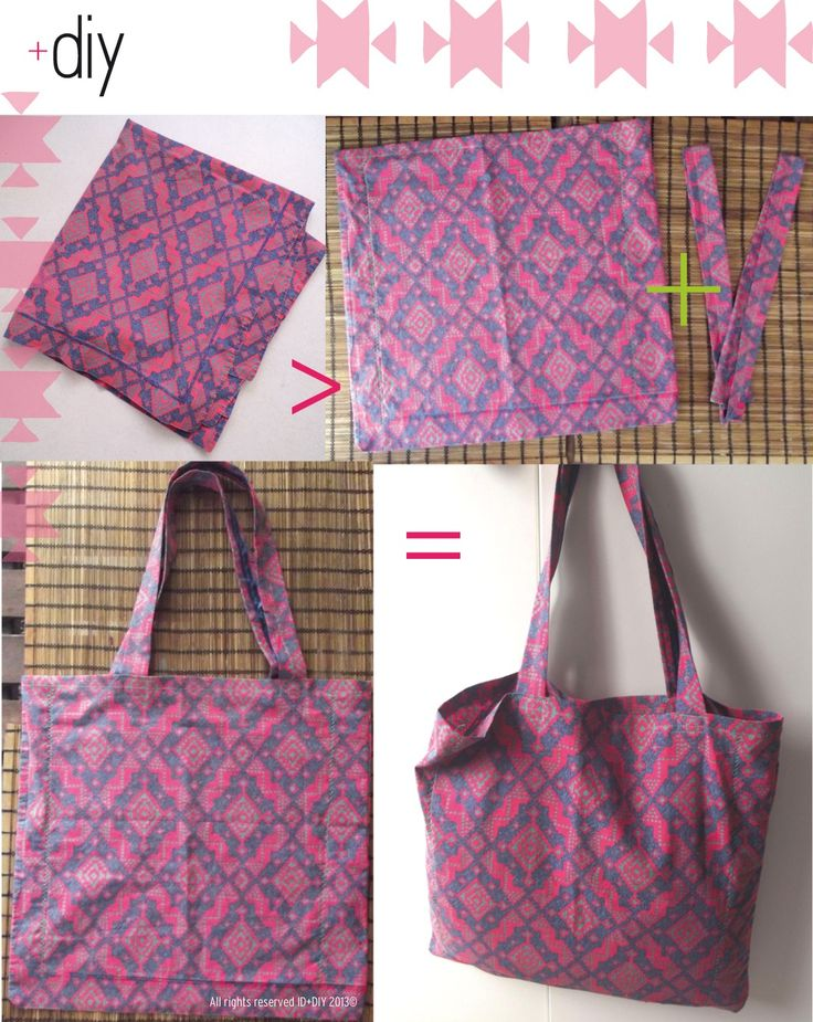 Great bag for a beginner to make, or if you need one in a hurry.