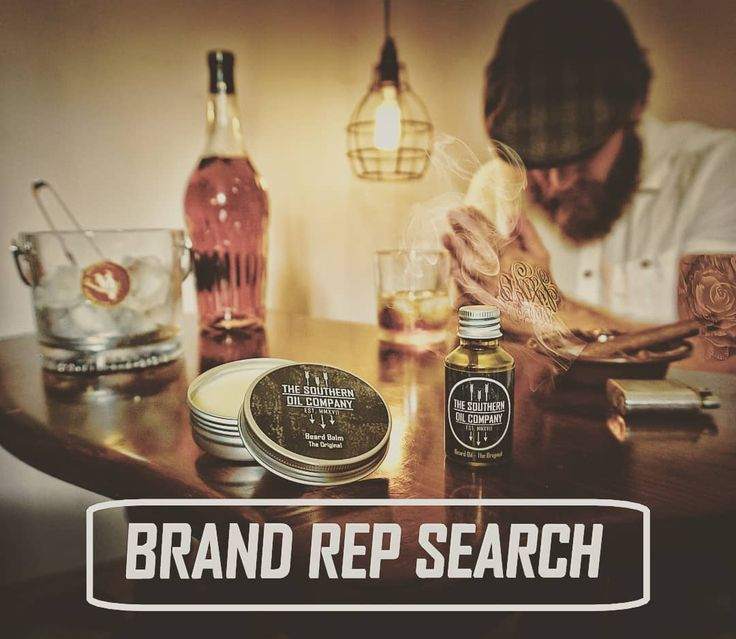 BRAND REP SEARCH We are looking for guys to represent The Southern Oil Company. See instagram post or email to enquire thesouthernoilcompany@gmail.com