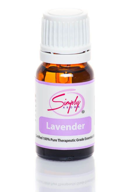 www.simplyaroma.com/TherapeuticAromatherapy Simply Aroma - Lavender Oil has calming properties and can be used in recipes or sorbets Diffuse, inhale, apply topically or if you choose may be ingested. Lavender oil is widely used to promote restfulness.. Some oils like sweet almond oil mixed with lavender oil may provide relief from minor aches and pains associated with daily life.