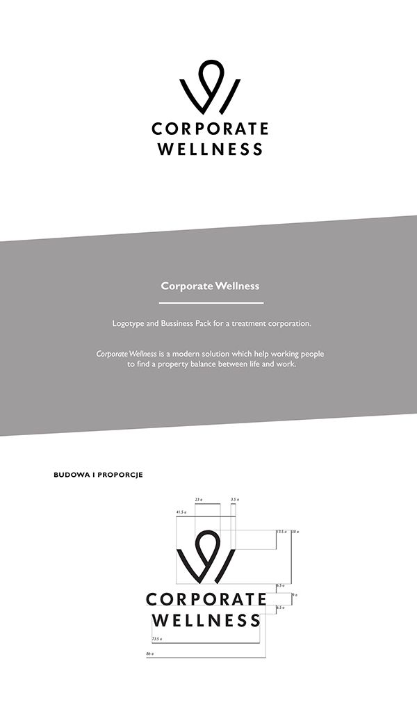 CORPORATE WELLNESS by Paprotnik Studio, via Behance