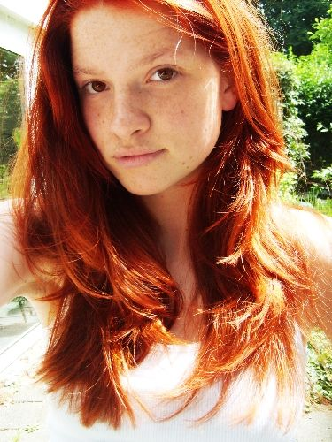 Dyed Red Hair Natural Looking