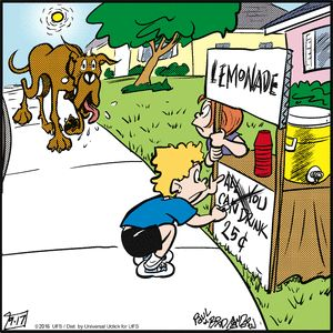 Marmaduke Comic Strip, September 17, 2016 on GoComics.com