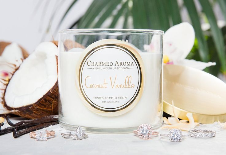 COCONUT VANILLA CANDLE – Charmed Aroma