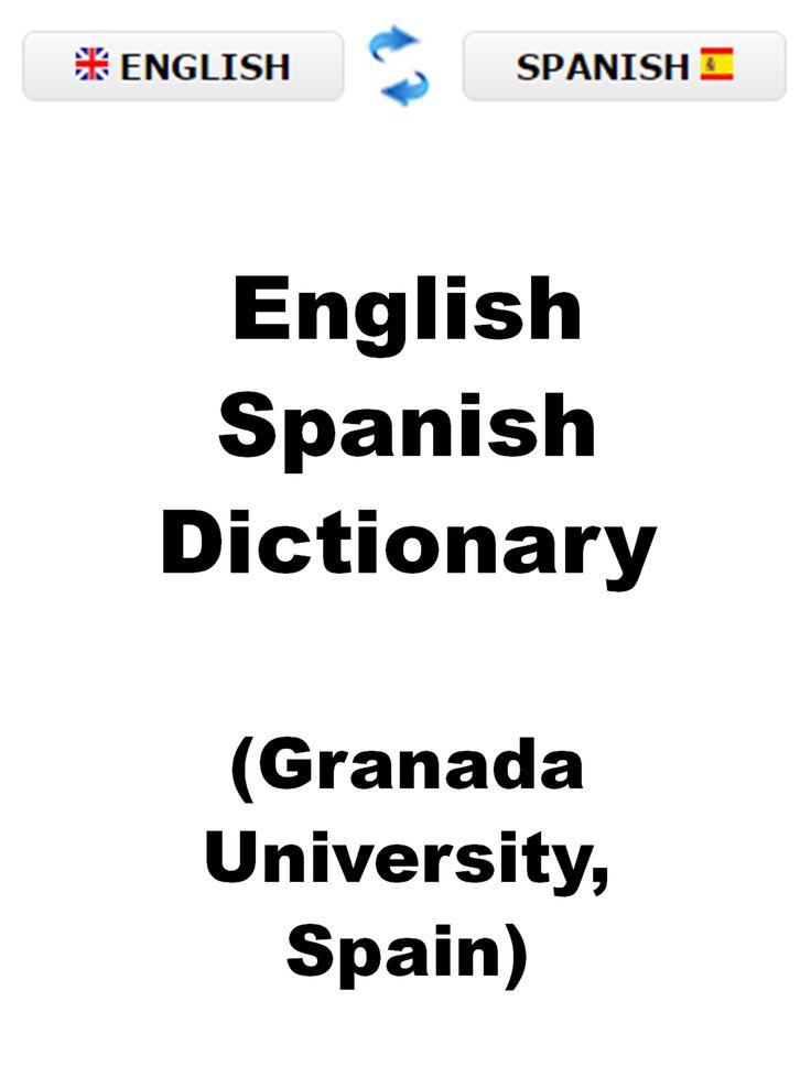English <> Spanish Dictionary (Granada University, Spain)